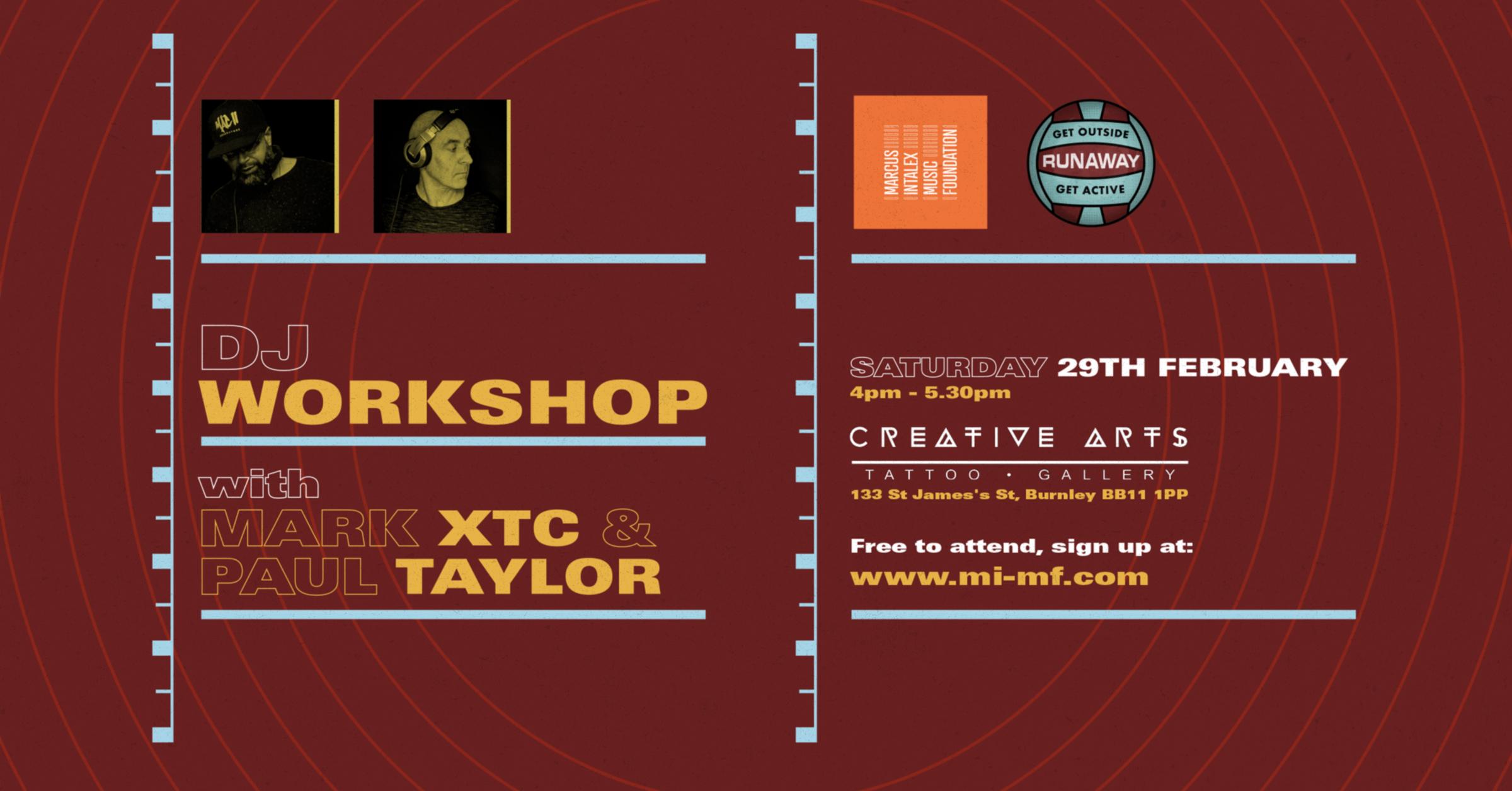 DJ Workshop Flyer